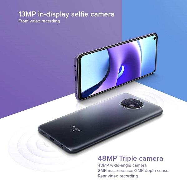 دوربین شیائومی Redmi Note 9T 5G