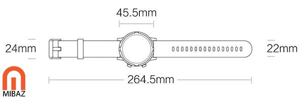 ساعت هوشمند شیائومی LS05S
